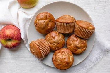Apple Maple Protein Muffins