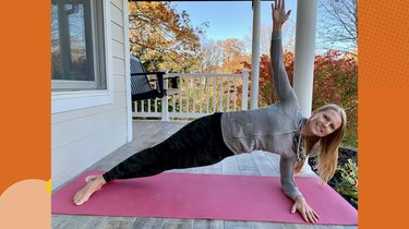6. Side Plank Dip