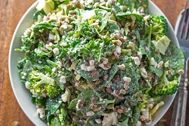 Green Power Protein Salad