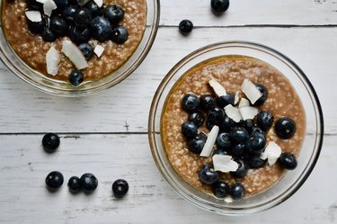 Oatmeal is an excellent way to get fiber in the diet.