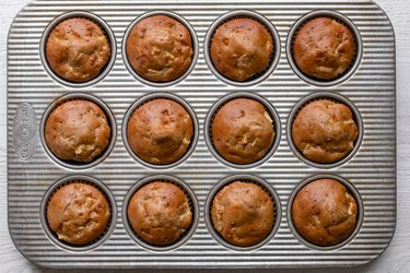 Golden muffins
