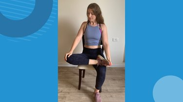 Move 4: Seated Hip Stretch