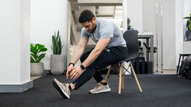 Move 3: Seated Hamstring Stretch