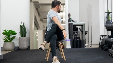 Move 2: Seated Spinal Rotation