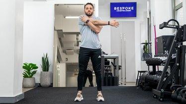 Move 3: Cross-Body Shoulder Stretch