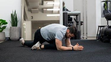 Move 3: Quadruped Hip Capsule Stretch