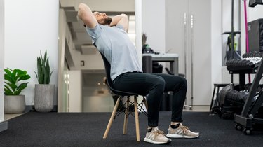 Move 1: Seated Thoracic Extension