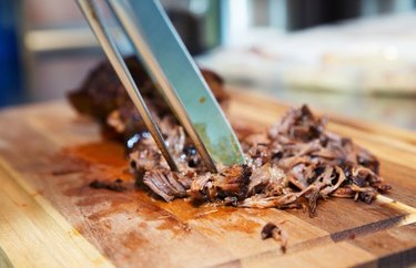 Healthy Pulled Barbecue Chicken