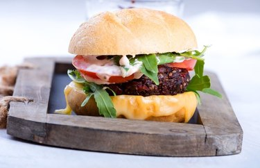 All-American Vegan Cheeseburgers