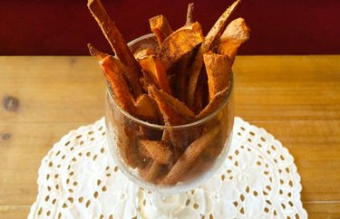 Cinnamon Coconut Sugar Fries