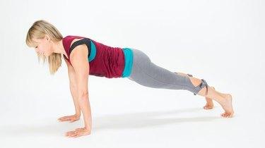 Challenge Day 3: Straight-Arm Plank