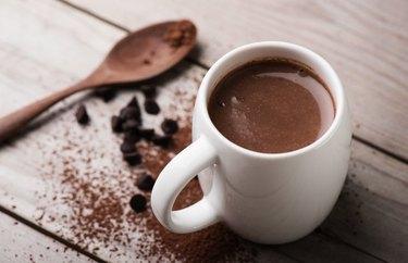 No Sugar, Low-Fat Hot Chocolate