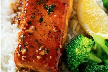 Honey Garlic Salmon High-Protein Salmon Recipe