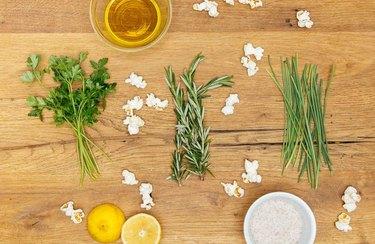 Herb Lovers' Popcorn Recipe