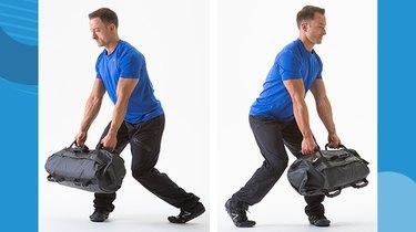 5. Sandbag Shoveling