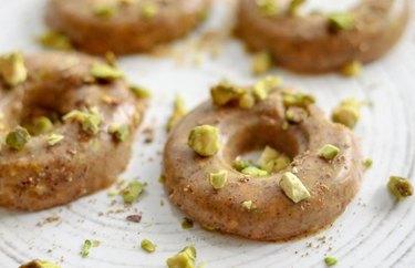 Lemon Almond Chai Doughnuts