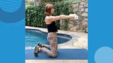 4. Kneeling Hip Extension