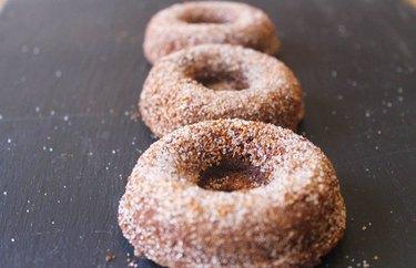 Vegan Maple Doughnuts
