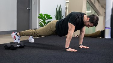 Move 1: Scapular Push-Up