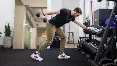 Move 2: Dumbbell Triceps Kickback
