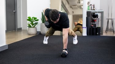 Move 2: Dumbbell Renegade Row