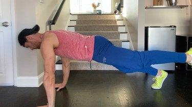 4. Single-Leg High Plank