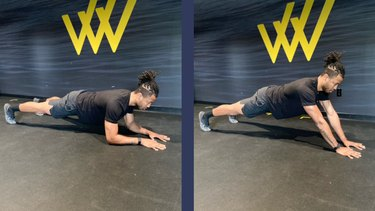 Move 9: Triceps Press-Up