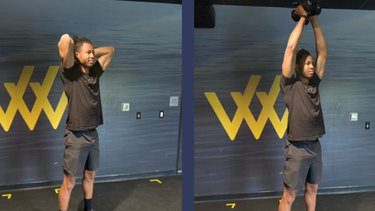 Move 6: Triceps Overhead Extension