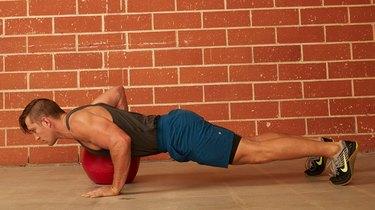 16. Medicine Ball Push-Up