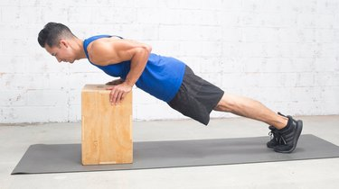 Modification 1: Incline Push-Up