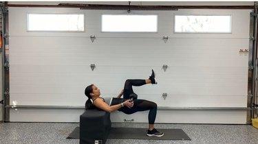 Move 5: Single-Leg Dumbbell Hip Thrust