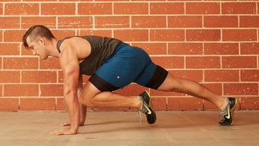 8. Knee-to-Chest Push-Up