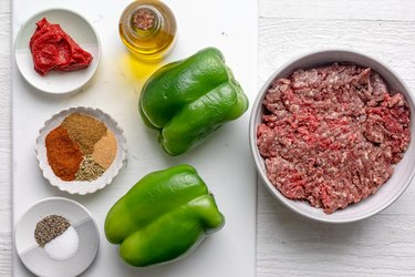 Taco-Stuffed Peppers ingredients