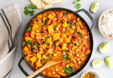 Moroccan Pumpkin and Chickpea Stew