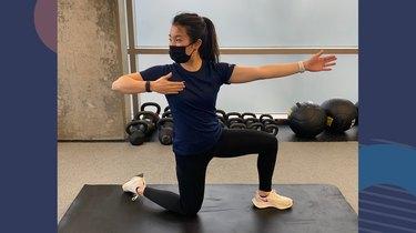 Move 1: Half-Kneeling Bow and Arrow