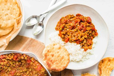 Easy Vegan Split Pea Curry
