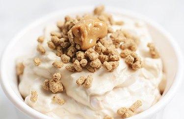 Vegan Peanut Butter Mash Low-Carb Vegan Breakfast Recipes