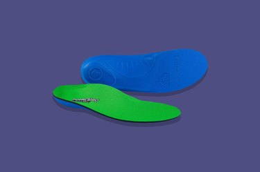 PowerStep Pinnacle High shoe inserts for high arches