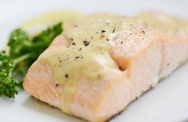 Dijon Salmon Dinner as an example of Weight Watchers dinner recipes