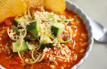Mexican Turkey Soup as an example of Weight Watchers dinner recipes