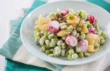 Vegan Artichoke and Edamame Salad recipes