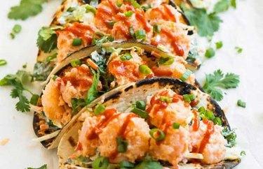 Bang Bang Shrimp Tacos recipe
