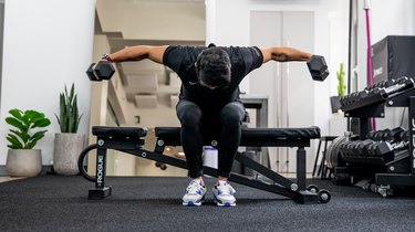 4. Seated Rear Delt Fly