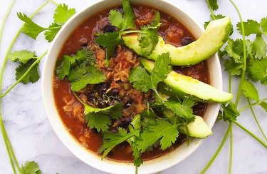 Mexican Black Bean and Avocado Oatmeal beans dinner recipes