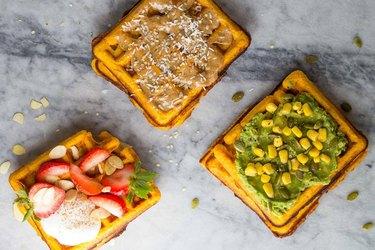Freezer Sweet Potato Waffles