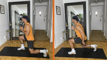 Move 9: Jumping Lunge