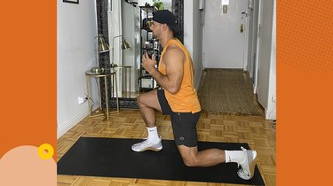 Move 3: Reverse Lunge