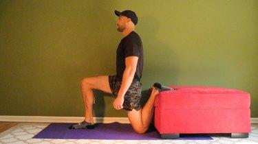 Alternative: Couch Quad Stretch