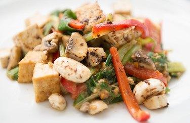 Bok Choy & Tofu Stir-Fry peanut butter recipes