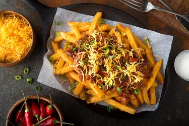 Spicy Chili Cheese Fries